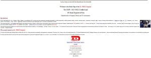 first website 2001